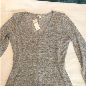 Gap long-sleeve Tshirt Dress, Sz XS, NEW